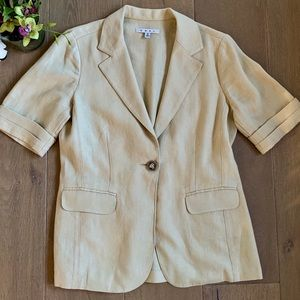 CAbi Linen Blazer Jacket 🌸 Medium